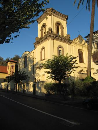 Sant'Agnello, Italien: View of old monastery bulding from the street