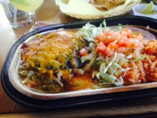 Green Chili Chicken Enchiladas Picture Of Marias New Mexican