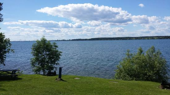 Cape Vincent, NY: View from site 28!