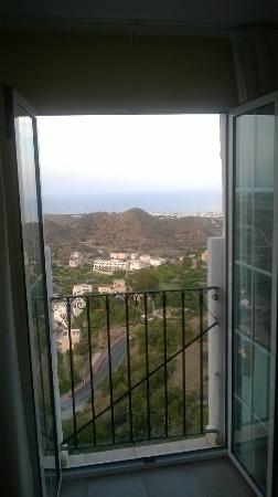 Hotel Restaurante Mamabels: Vistas a Mojacar Playa