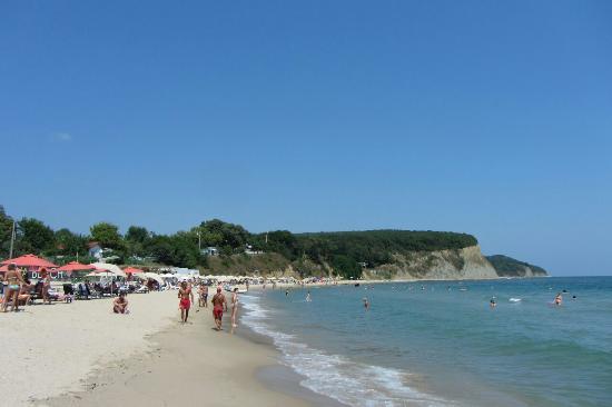 Obzor, Bulgaria: Пляж Ираклий