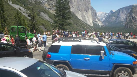 Perfect Yosemite Valley Floor Tour: Example Of Parking Woes And CROWDS Of People!