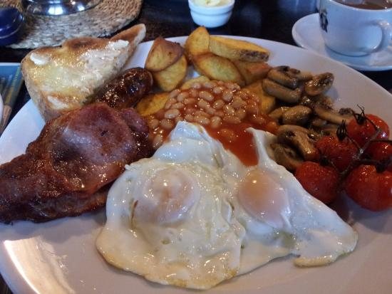 The Fox and Goose Inn: start the day right