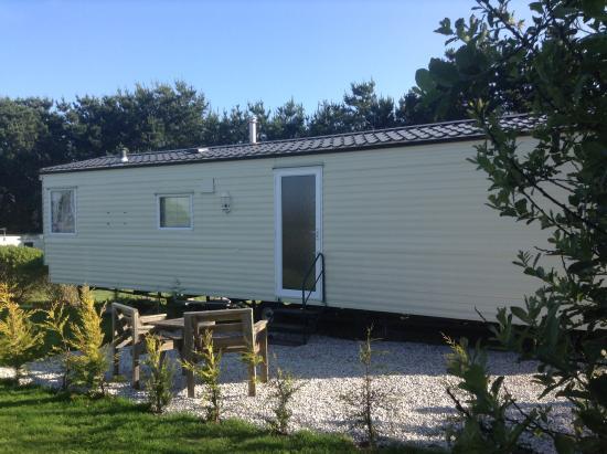 Ruan Minor, UK: One of our new caravans