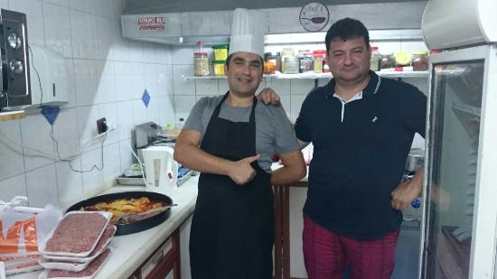 Poseidon Motel: Manager Cem and the Chef