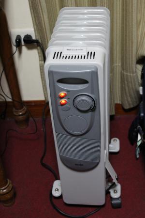 Hostal Huaynapata: Heater