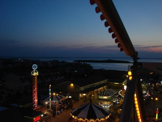 Fantasy Island Amut Park View Of The Inlet From Atop Ferris Wheel