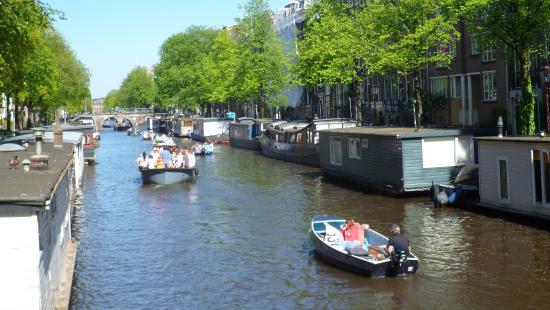 Hotel Hermitage Amsterdam: Canais