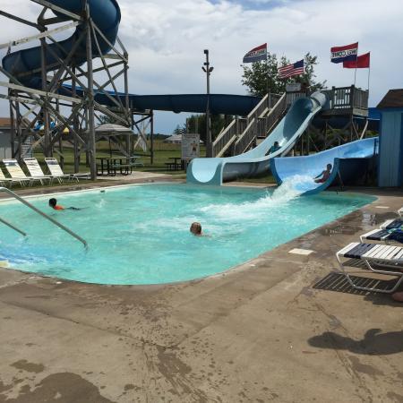 Nisswa Family Fun Center : Will riding the slide