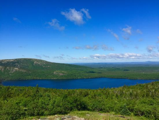 Maples Inn: Driving up Cadillac Mountain in Acadia National Park