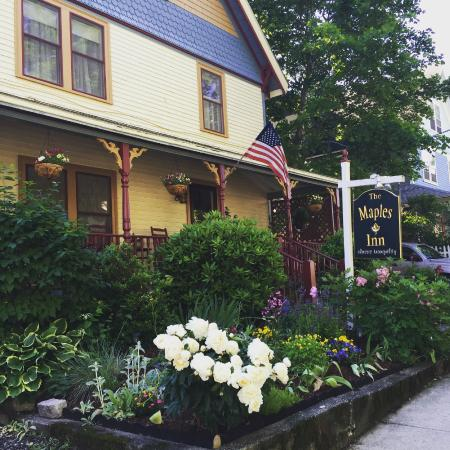 The adorable Maples Inn