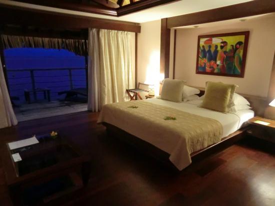 Manava Beach Resort & Spa - Moorea : Bedroom