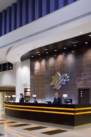 Kfar Maccabiah Hotel & Suites: Lobby View