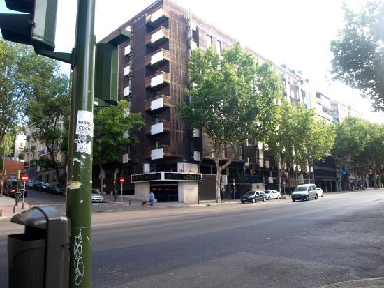 Vista Do Hotel Picture Of Hotel Agumar Madrid Tripadvisor