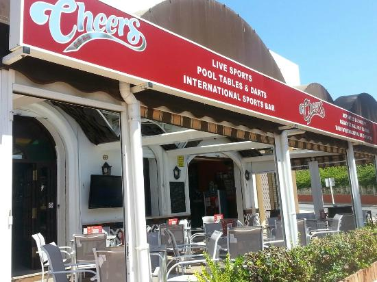Cheers Sports & Food Bar: NEW CHEERS SIGNAGE