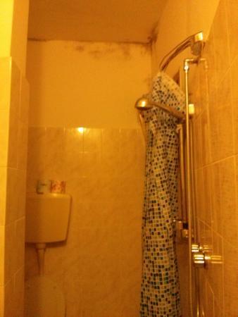 Hotel Graziana : muffa bagno stanza n°6