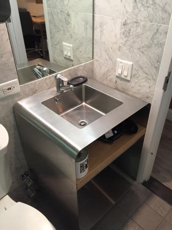 Bathroom Sinks New York City slick design in bathroom and bedroom - picture of nylo new york