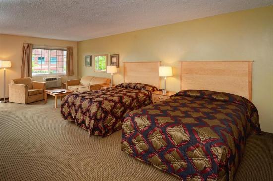 Campus Inn & Suites, Eugene Downtown: Guest Room