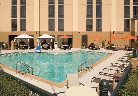 Hampton Inn Orlando-S. Of Universal Studios : Outdoor Pool Area