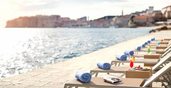 Hotel Excelsior Dubrovnik: beach