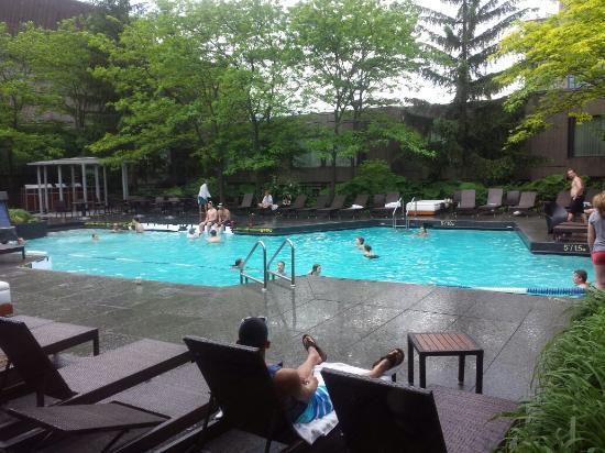 Hotel Bonaventure Montreal Super Heated Pool