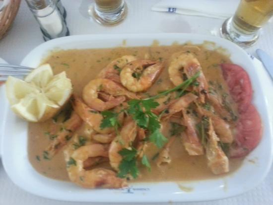 Casinha do Petisco: house's prawn special