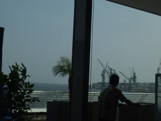 SantaMonicanokaze: 海を見渡せるので気分が良かったです。