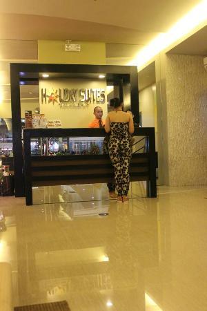 lobby picture of holiday suites puerto princesa tripadvisor rh en tripadvisor com hk