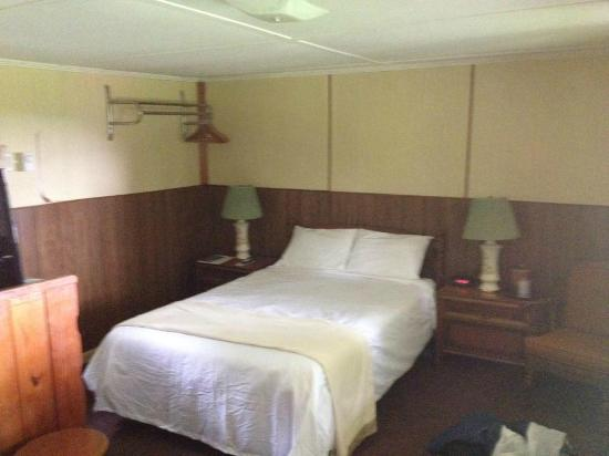 The Harwood Hill: The cozy motel room