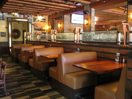 Wood Ranch BBQ & Grill: Booth seating - Bar Area, View #1 - Picture Of Wood Ranch BBQ & Grill, Irvine