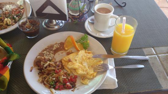 Hotel Posada Terranova: Un desayuno especial