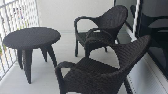 Oceanfront Balconies And New Furniture Picture Of Ocean Sands Resort Virginia Beach Tripadvisor