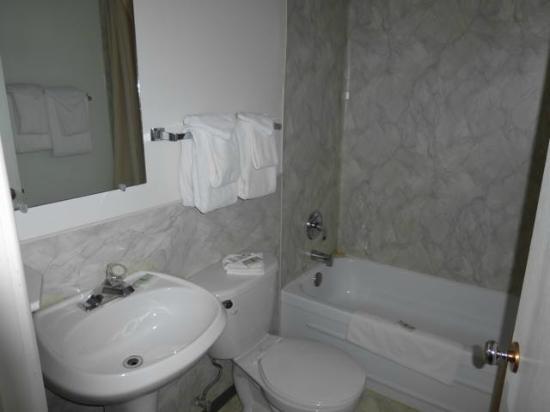 Hitching Post Motel: Bathroom