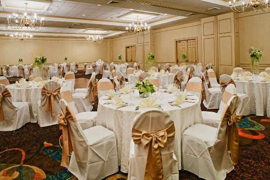 Doubletree by Hilton Atlanta Roswell: Wedding Reception