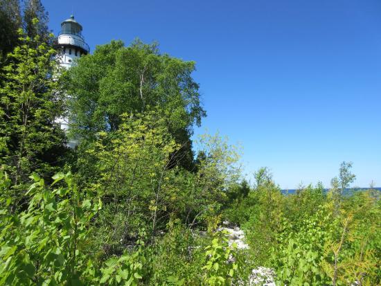 Baileys Harbor, Ουισκόνσιν: Cana Island Light