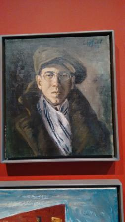 Clyfford Still Museum: a self portrait of the artist as a young man