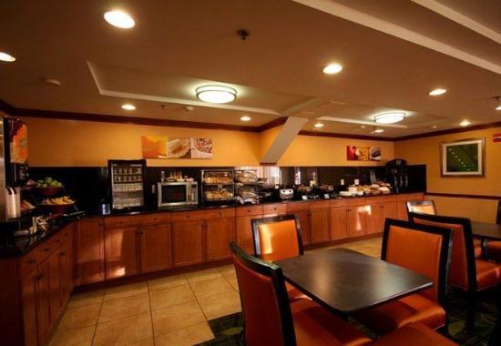Spring Valley, estado de Nueva York: Breakfast Area