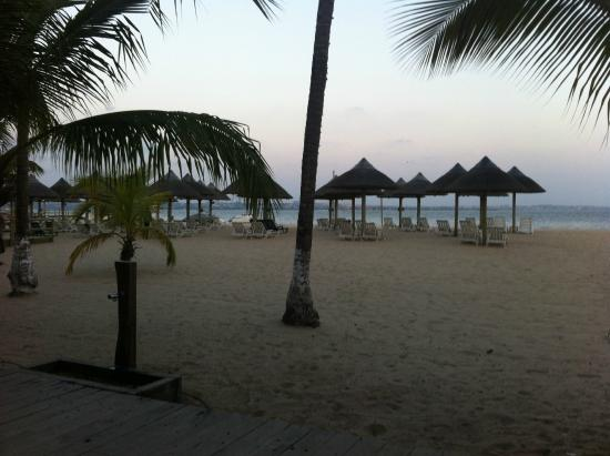 Mussulo, แองโกลา: Vista praia privada