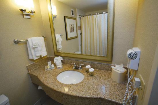 Hilton Garden Inn Jacksonville JTB / Deerwood Park: Guest Room Bathroom