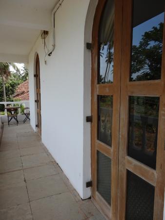 Casa Da Praia: Balcony