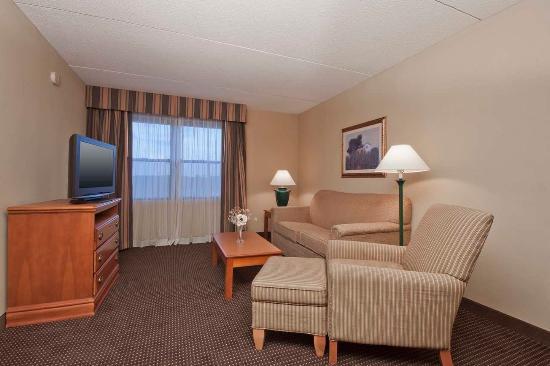 Homewood Suites by Hilton Boston: Suite Living Area