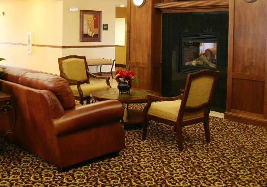 Homewood Suites by Hilton Fargo: Fireplace