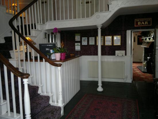 Lifton Hall Hotel : Reception