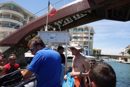 Aquatic Rando: Départ de Port Frejus