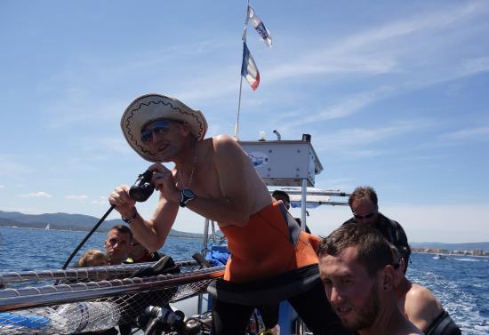 Aquatic Rando: Instructions pour les plongeurs