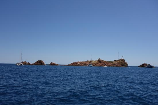 Aquatic Rando: Notre spot l'Ile du lion de mer