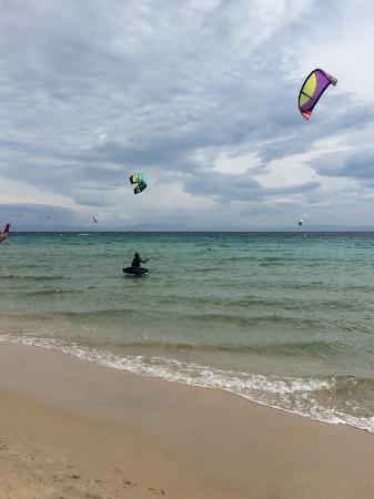 Escuela de kitesurf Gisela Pulido Pro Center: Water start