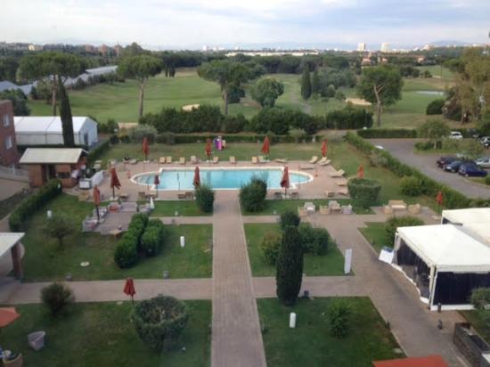 Piscina Picture Of Sheraton Parco De Medici Rome Hotel Tripadvisor