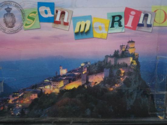 San Marino card - Picture of Centro Storico Di San Marino ...