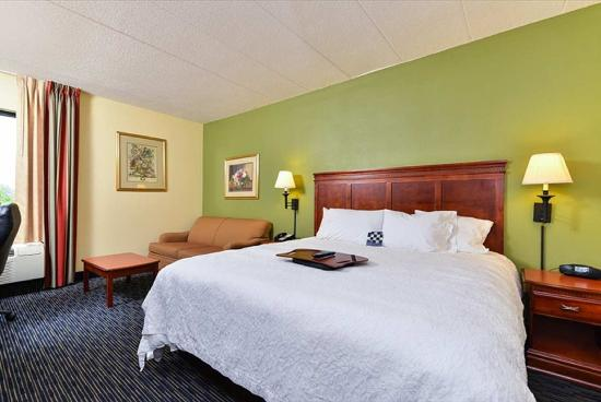 Hampton Inn and Suites Valley Forge/Oaks: King Study
